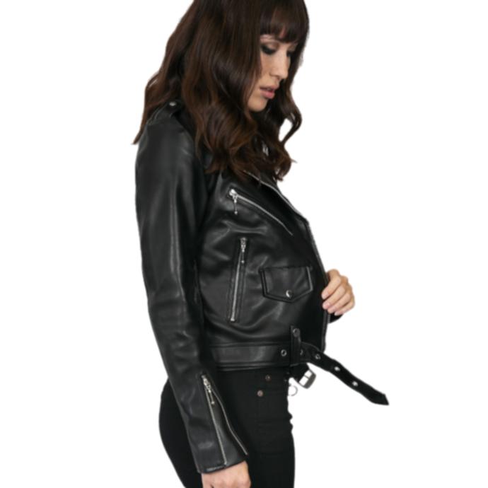 bunda (křivák) dámská STRAIGHT TO HELL - Vegan Commando II
