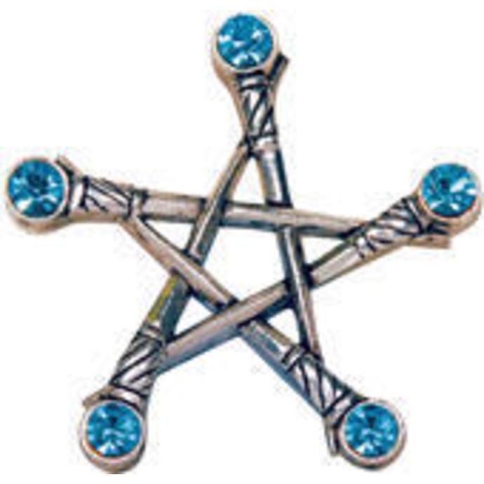přívěšek Pentagram of Swords - EASTGATE RESOURCE