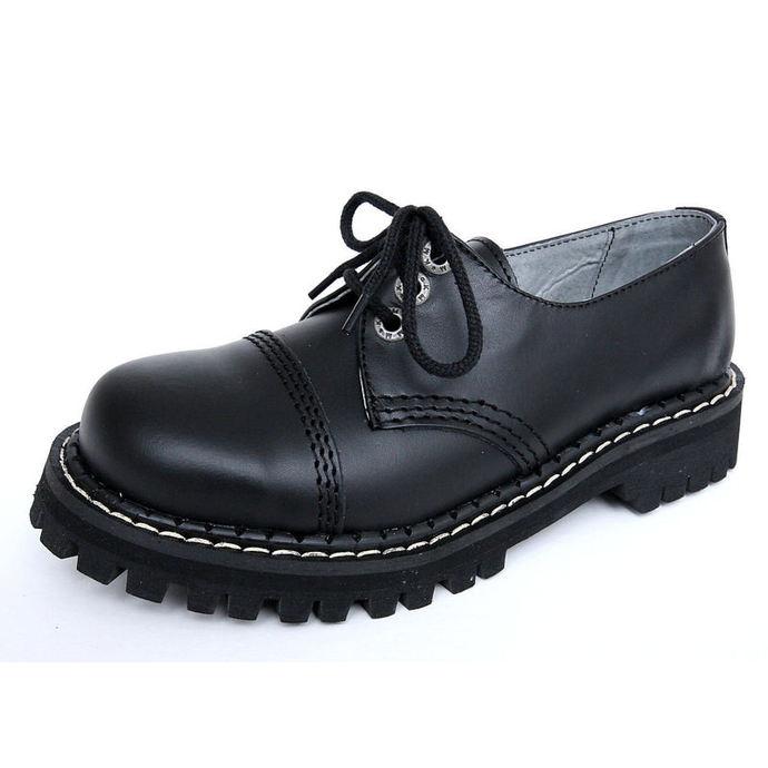 boty KMM 3dírkové - Black