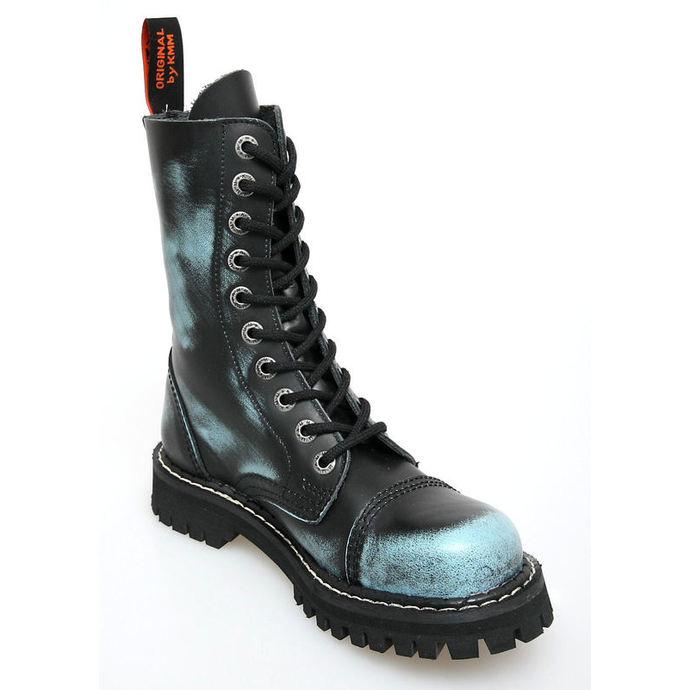 boty KMM 10dírkové - Jeans