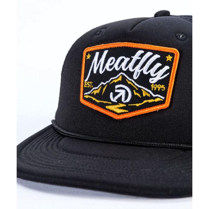 kšiltovka MEATFLY - CLANCY A - BLACK