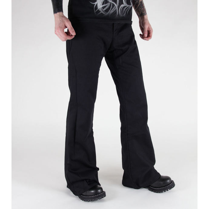 kalhoty Black Pistol - Loon Hipster Denim Black
