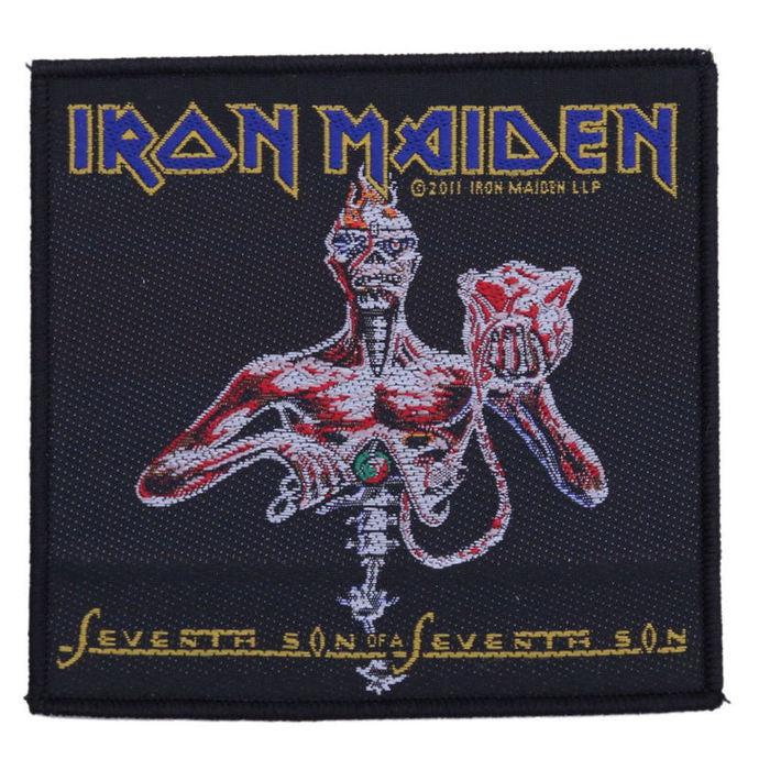 nášivka Iron Maiden - Seventh Son - RAZAMATAZ
