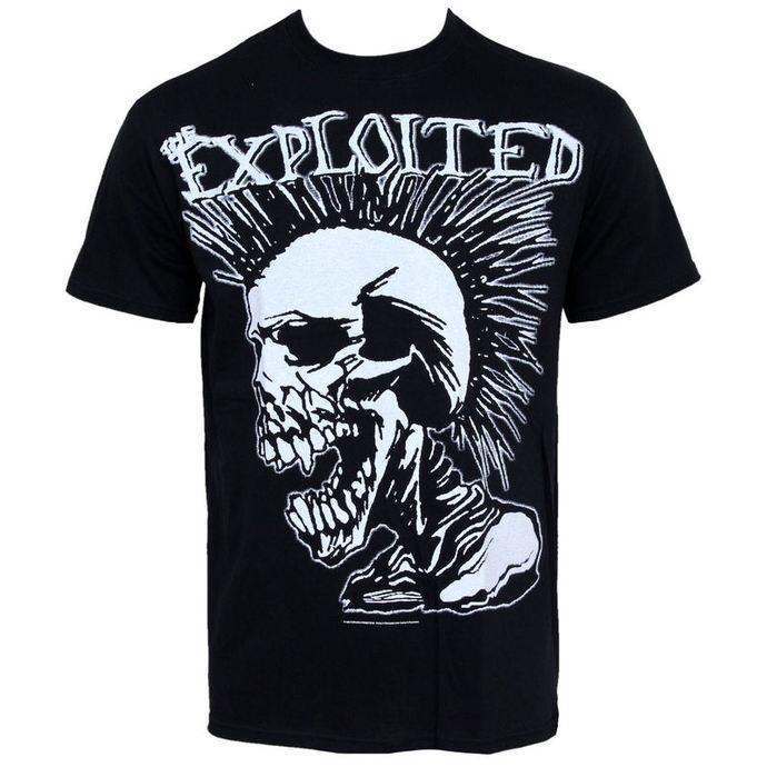 tričko pánské Exploited - Mohican Skull - ST0127