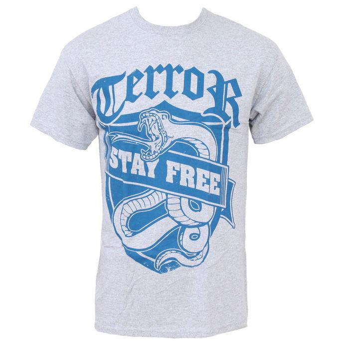 tričko pánské Terror - Stay Free - BUCKANEER