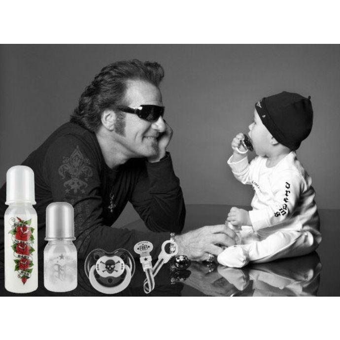 dětská láhev (250 ml) ROCK STAR BABY - Tatoo Pirate