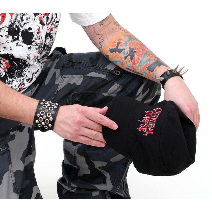 kšiltovka Cannibal Corpse - Logo Army - PLASTIC HEAD