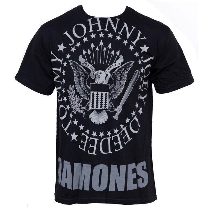 tričko pánské Ramones - Hey Ho Lets Go - LIQUID BLUE