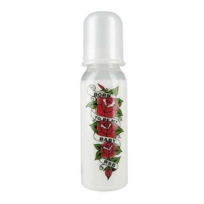 dětská láhev (250 ml) ROCK STAR BABY - Rose