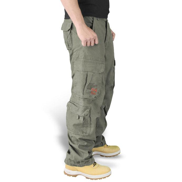 kalhoty SURPLUS - Airborne - OLIV