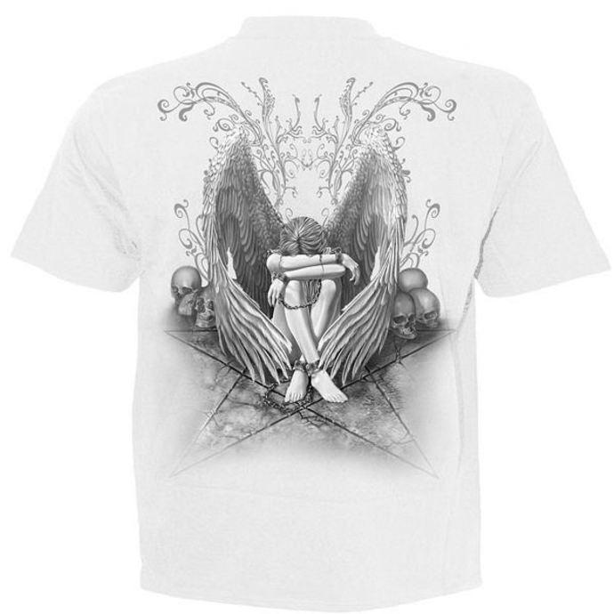 tričko pánské SPIRAL - Enslaved Angel - White