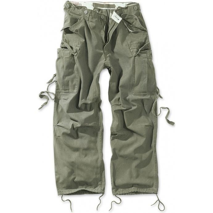 kalhoty SURPLUS - Vintage - OLIV