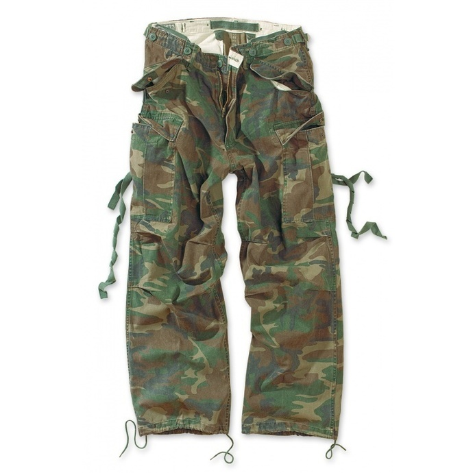 kalhoty SURPLUS - Vintage - WOODLAND
