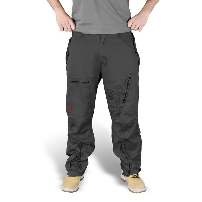 kalhoty SURPLUS - Infantry - BLACK