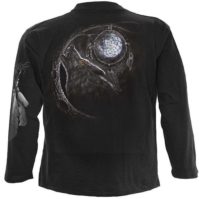 tričko pánské s dlouhým rukávem SPIRAL - Wolf Dreams