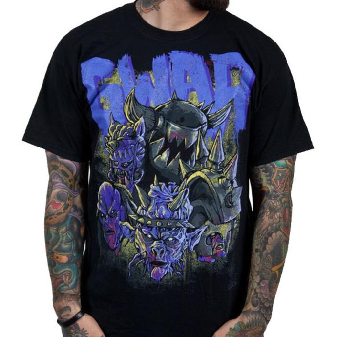 tričko pánské GWAR - Destroyers - Black w/ Purple - INDIEMERCH