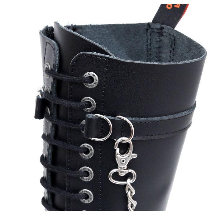 boty KMM 20dírkové - Chain Black Monster