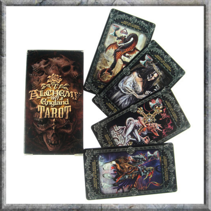 tarotové karty Alchemy