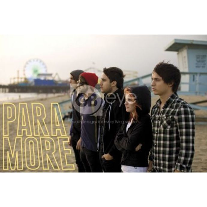 plakát Paramore - Beach - LP1292