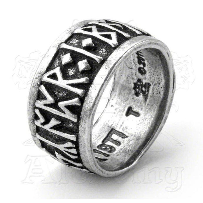 prsten Runeband ALCHEMY GOTHIC