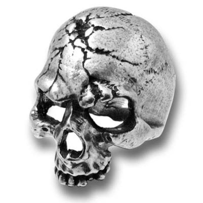 prsten Ruination Skull ALCHEMY GOTHIC