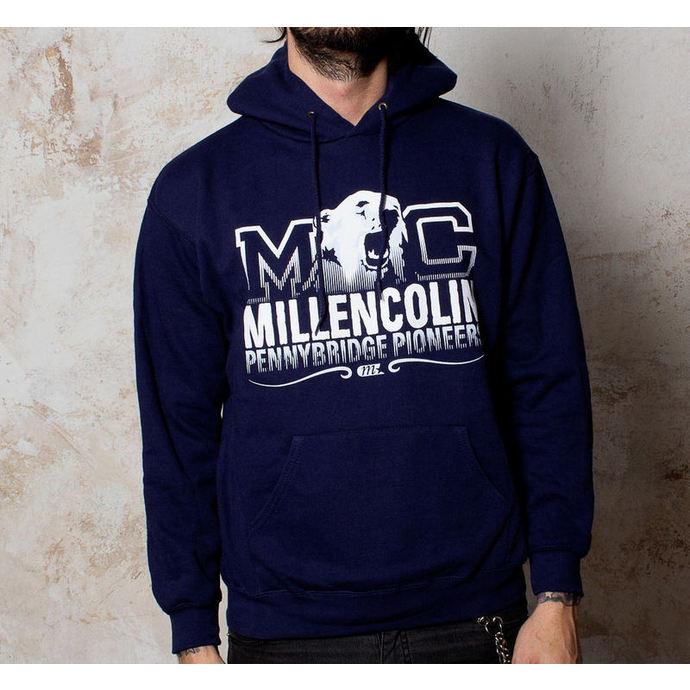 mikina pánská Millencolin - Bear Logo - Navy - BUCKANEER