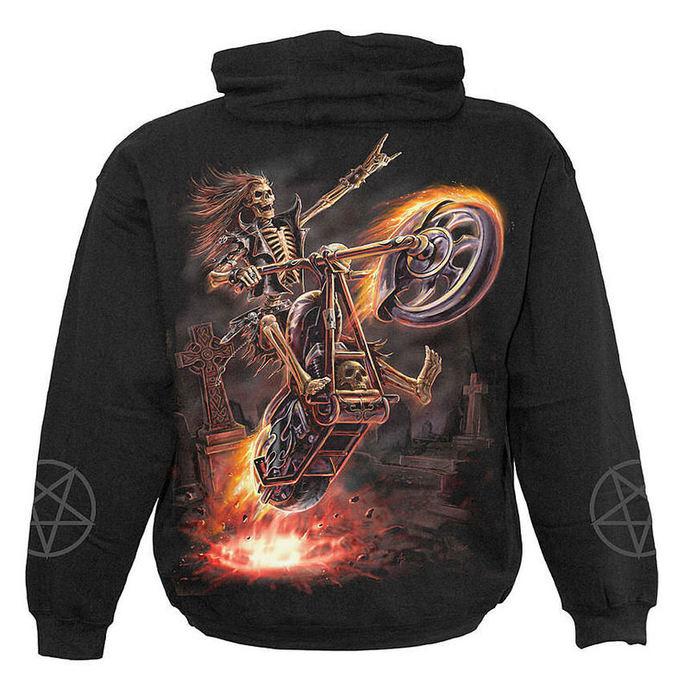 mikina dětská SPIRAL - Hell Rider - Black