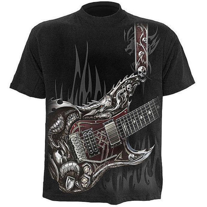tričko pánské SPIRAL - Air Guitar