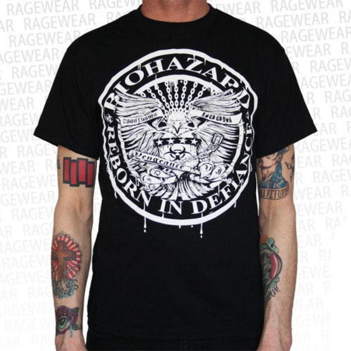 tričko pánské Biohazard - Eagle - Black - RAGEWEAR