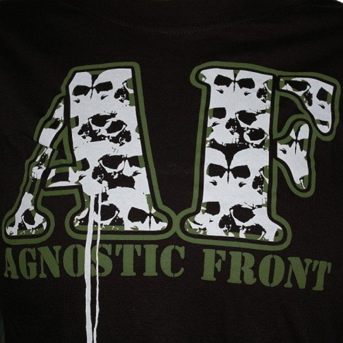 tričko dámské Agnostic Front - Skulls - RAGEWEAR