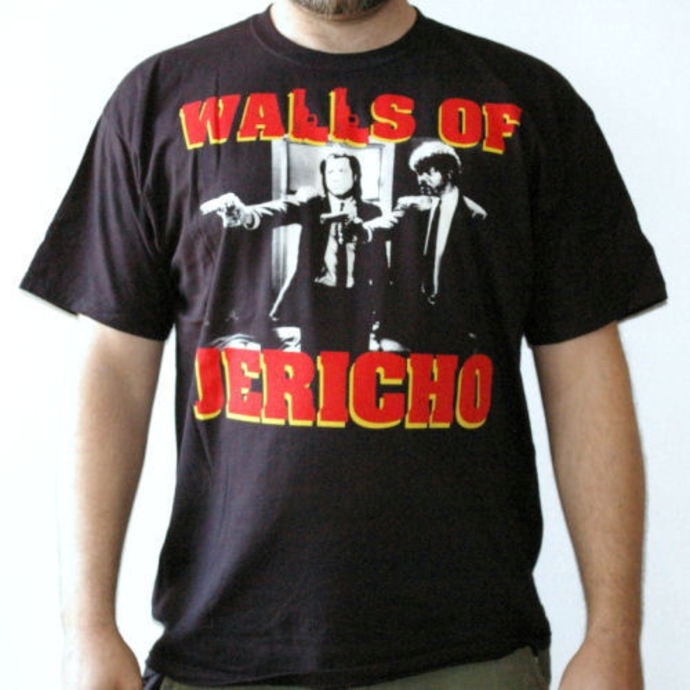 tričko pánské Walls Of Jericho - Wolf - RAGEWEAR