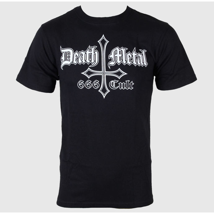 tričko pánské Black Metal - Death Metal 666 Cult - JSR