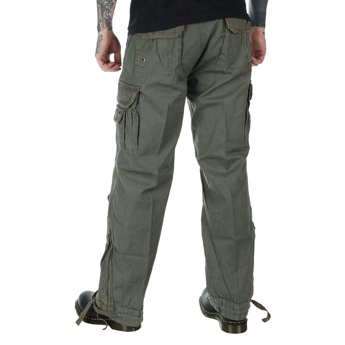 kalhoty pánské BRANDIT - Royal Vintage Trouser Oliv