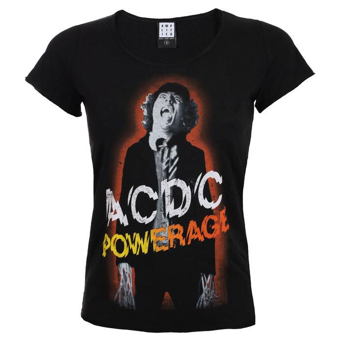 tričko dámské AC/DC - POWERAGE - BLACK - AMPLIFIED