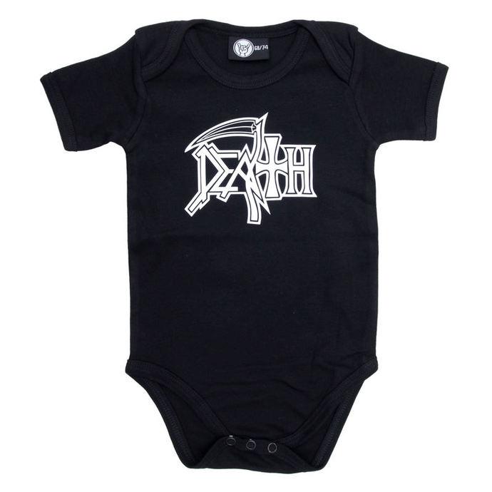 body dětské Death - Logo - Black - Metal-Kids