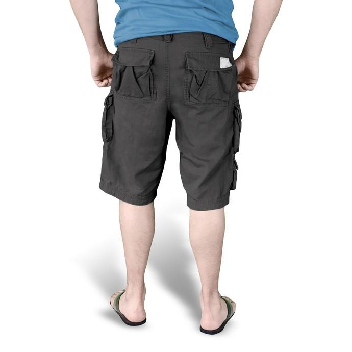 kraťasy pánské SURPLUS - Trooper Shorts - Black