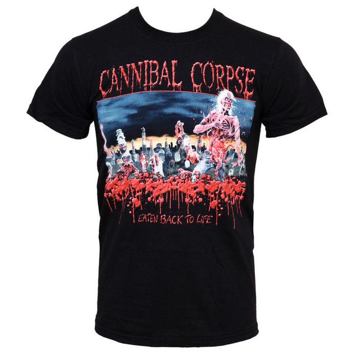 tričko pánské Cannibal Corpse - Eaten Back To Life - PLASTIC HEAD