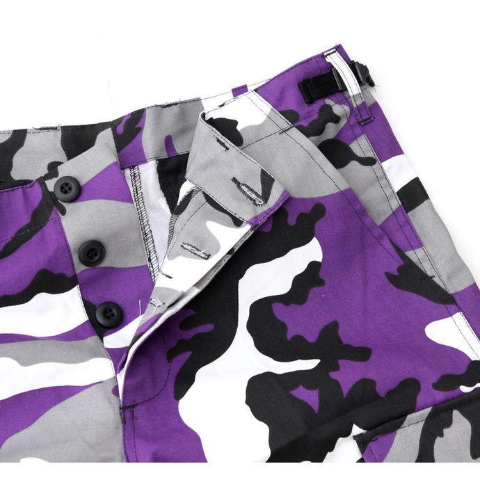 kraťasy pánské MMB - US BDU - Army - Lila Camo