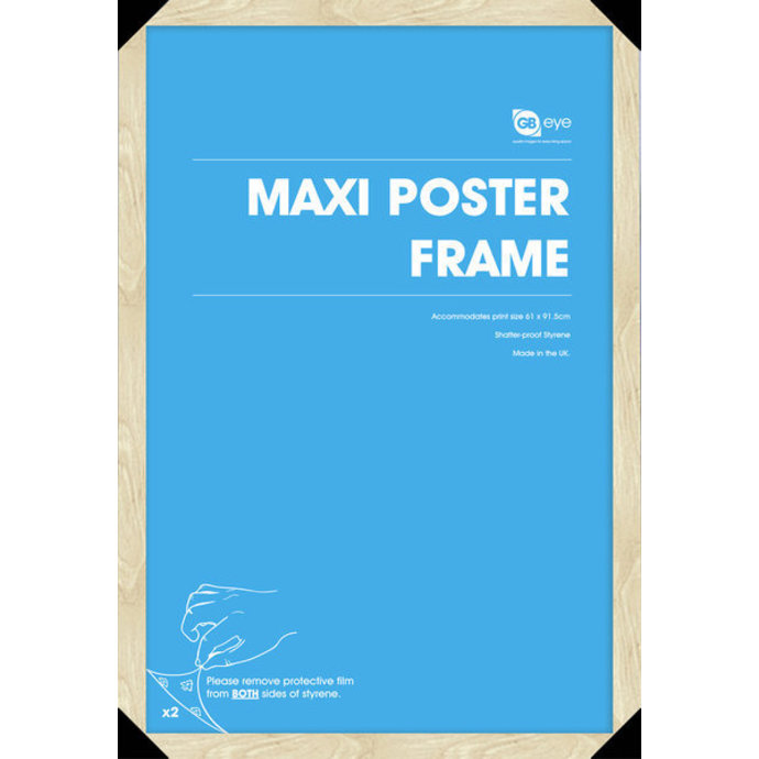 rám na plakát (61x91,5 cm) - Beech - GB Posters