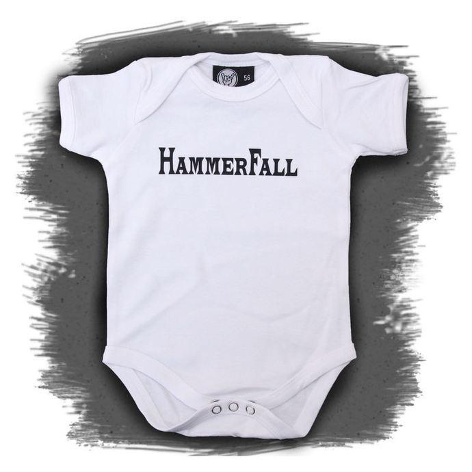 body dětské Hammerfall - Logo - White - Metal-Kids