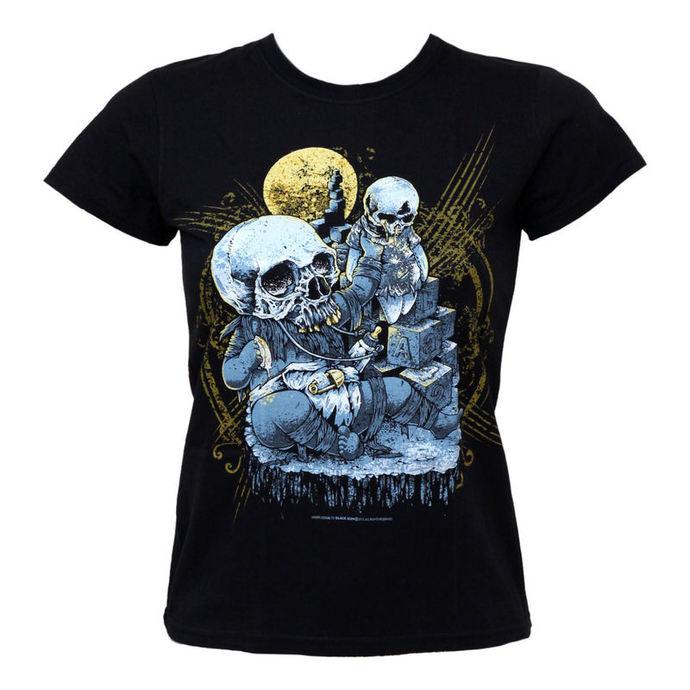 tričko dámské BLACK ICON - Smash Baby Smash - Black