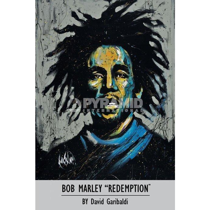 plakát Bob Marley - David Garibaldi - Pyramid Posters