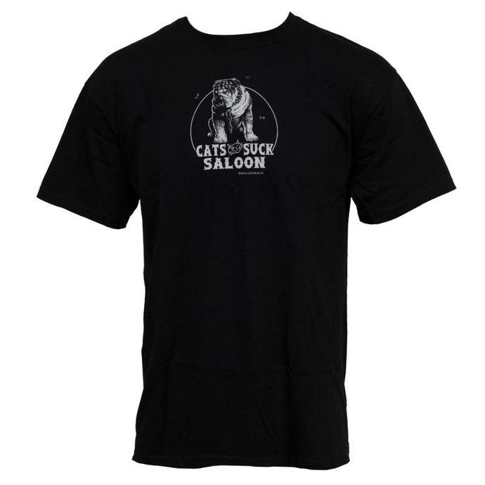 tričko pánské Cats Suck Saloon - LIQUID BLUE