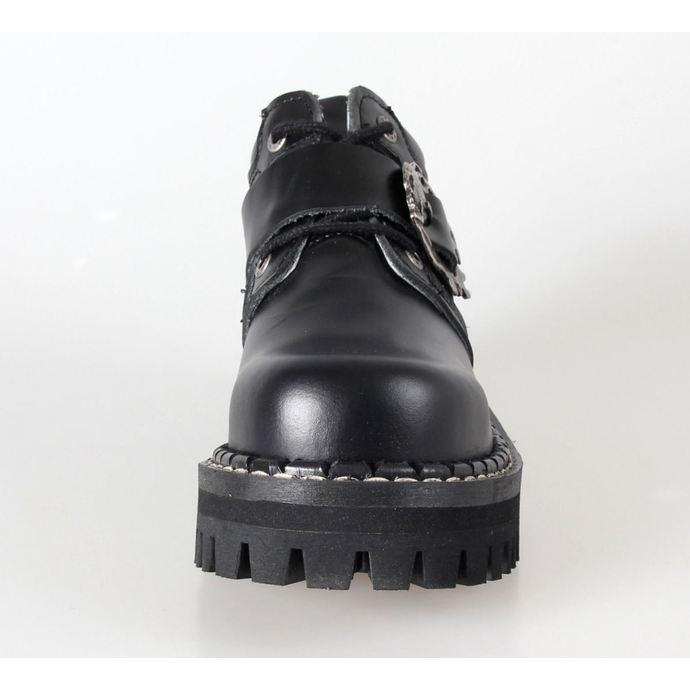 boty KMM 4dírkové - Big Skulls Black Full