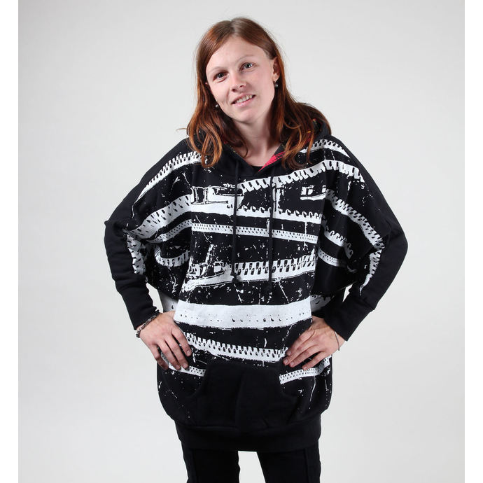mikina dámská (Pončo) ABBEY DAWN - Punk Hair