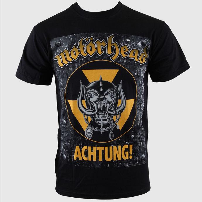 tričko pánské Motörhead - Achtung g- Blk - ROCK OFF