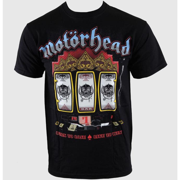 tričko pánské Motörhead - Slots - Blk - ROCK OFF
