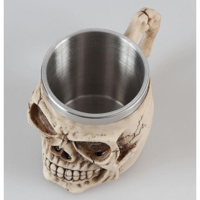 hrnek (korbel) Grinning Skull - NEM3933