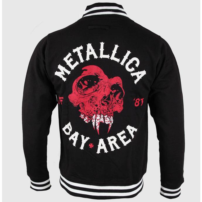 mikina pánská Metallica - Bay Area Skull - Black