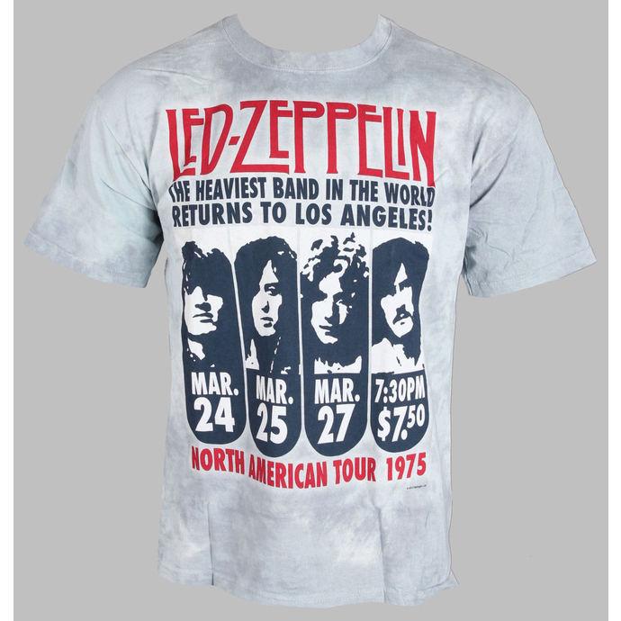 tričko pánské Led Zeppelin - Zeppelin LA 1975 - LIQUID BLUE
